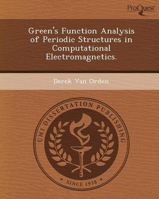 Green's Function Analysis of Periodic Structures in Computational Electromagnetics