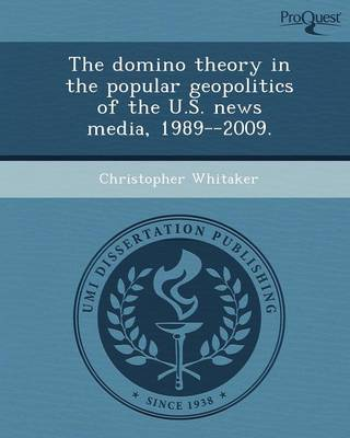 The Domino Theory in the Popular Geopolitics of the U.S