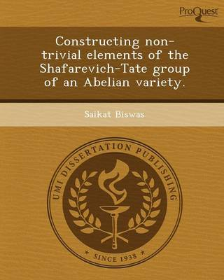 Constructing Non-Trivial Elements of the Shafarevich-Tate Group of an Abelian Variety