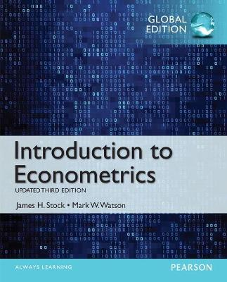 Introduction to Econometrics, Update with MyEconLab, Global Edition