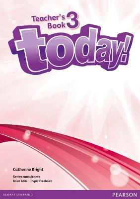 Today! 3 Teacher's Book and DVD Pack