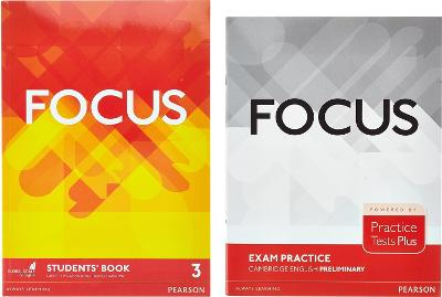 Focus BrE 3 Students' Book & Practice Tests Plus Preliminary Booklet Pack