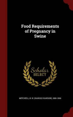 Food Requirements of Pregnancy in Swine