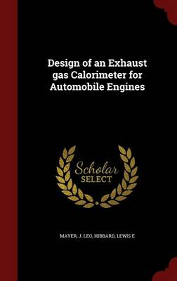 Design of an Exhaust Gas Calorimeter for Automobile Engines