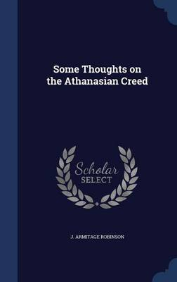 Some Thoughts on the Athanasian Creed