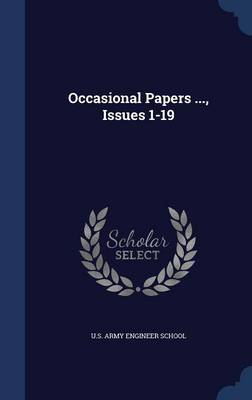 Occasional Papers ..., Issues 1-19