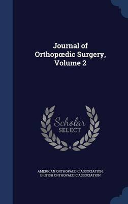 Journal of Orthop DIC Surgery, Volume 2
