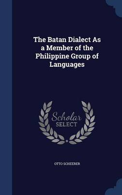 The Batan Dialect as a Member of the Philippine Group of Languages