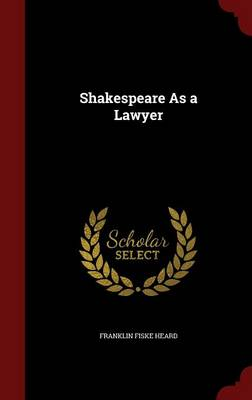 Shakespeare as a Lawyer