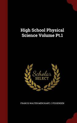 High School Physical Science Volume PT.1