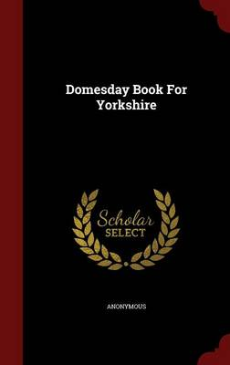 Domesday Book for Yorkshire