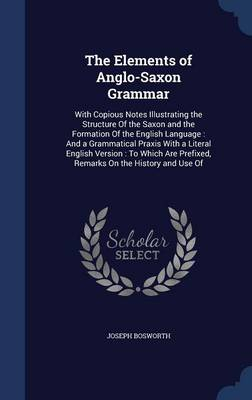 The Elements of Anglo-Saxon Grammar: With Copious Notes Illustrating the Structure of the Saxon and the Formation of the English Language: And a Grammatical Praxis with a Literal English Version: To Which Are Prefixed, Remarks on the History and Use of