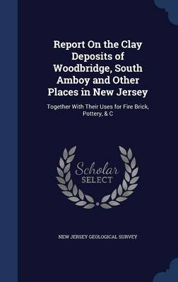 Report on the Clay Deposits of Woodbridge, South Amboy and Other Places in New Jersey: Together with Their Uses for Fire Brick, Pottery, & C