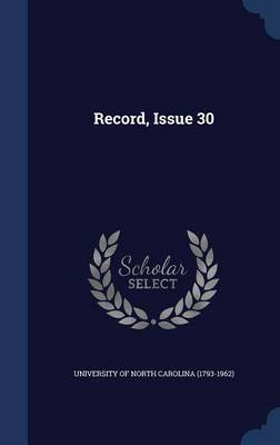Record, Issue 30