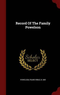 Record of the Family Powelson