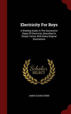 Electricity for Boys: A Working Guide, in the Successive Steps of Electricity, Described in Simple Terms, with Many Original Illustrations