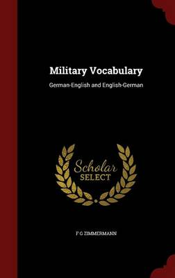Military Vocabulary: German-English and English-German