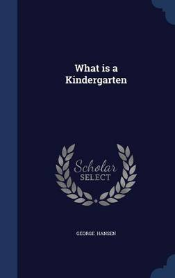 What Is a Kindergarten