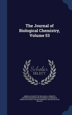 The Journal of Biological Chemistry; Volume 53
