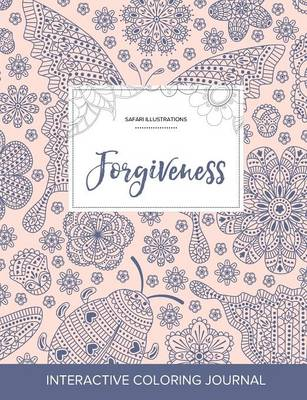 Adult Coloring Journal: Forgiveness (Safari Illustrations, Ladybug)