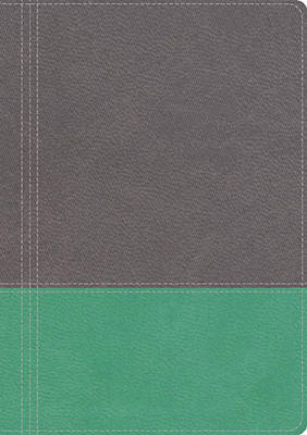 NKJV, The Modern Life Study Bible, Imitation Leather, Gray/Green: God's Word for Our World