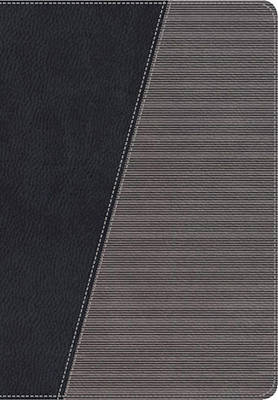 NKJV, The Modern Life Study Bible, Leathersoft, Black/Gray: God's Word for Our World