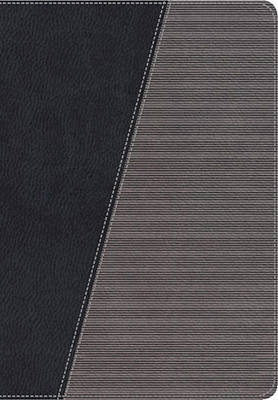NKJV, The Modern Life Study Bible, Imitation Leather, Black/Gray, Indexed: God's Word for Our World