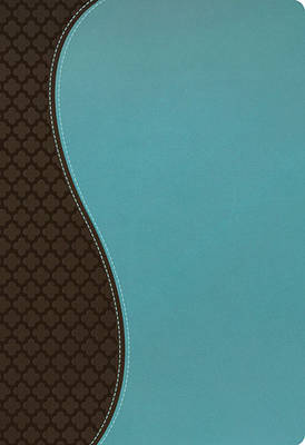 NKJV, The Woman's Study Bible, Imitation Leather, Turquoise/Brown, Indexed