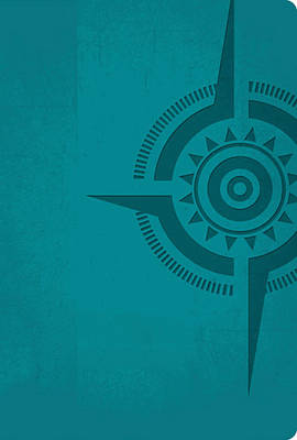 The Voice, Compass Study Bible, Imitation Leather, Turquoise: The Study Bible for Navigating Your Life