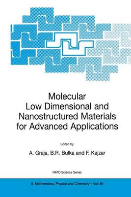 Molecular Low Dimensional and Nanostructured Materials for Advanced Applications: Proceedings of the NATO Advanced Research Workshop, Held in Poznan, Poland, 1-5 September, 2001