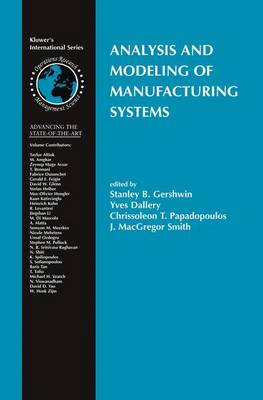 Analysis and Modeling of Manufacturing Systems