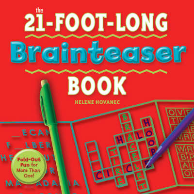 21-foot-long Brainteaser Book: Fold-out Fun for More Than One!