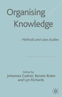 Organising Knowledge: Methods and Case Studies