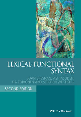 Lexical-Functional Syntax