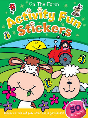 On the Farm Activity Fun Sticker Book