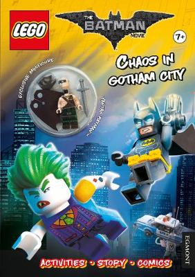 LEGO the Batman Movie: Chaos in Gotham City (Activity Book with Exclusive Batman Minifigure)