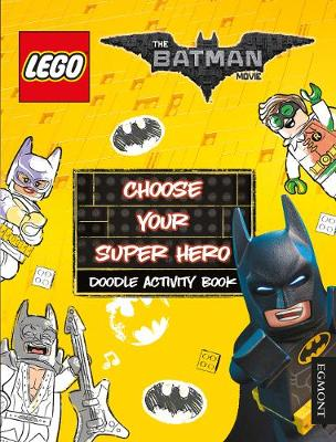 LEGO the Batman Movie: Choose Your Super Hero Doodle Activity Book