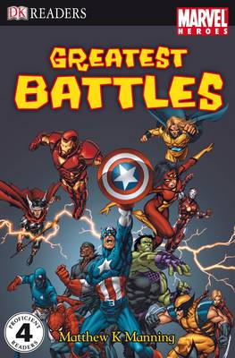 """Marvel Heroes"" Greatest Battles: Level 4"