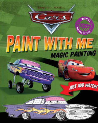 """Disney """"Cars"""" Paint with Me"""