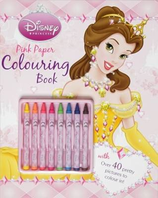 Disney Princess Pink Colouring Book