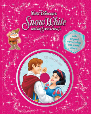 """Disney """"Snow White and the Seven Dwarfs"""" Storybook"""
