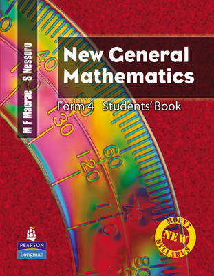 New General Mathematics for Tanzania: Bk. 4: Students' Book