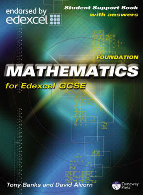 Causeway Press Foundation Mathematics for Edexcel GCSE - Student Support Book (With Answers)