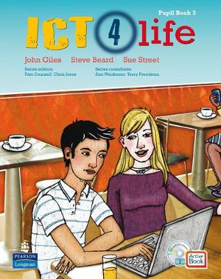 ICT 4 Life Year 9 Students' ActiveBook Pack with CDROM