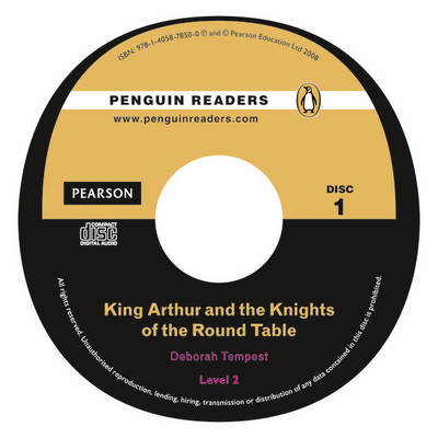 PLPR2:King Arthur and the Knights of the Round Table Bk/CD Pack