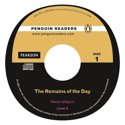 PLPR6:Remains of the Day Bk/CD Pack