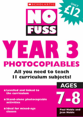 No Fuss: Year 3 Photocopiables