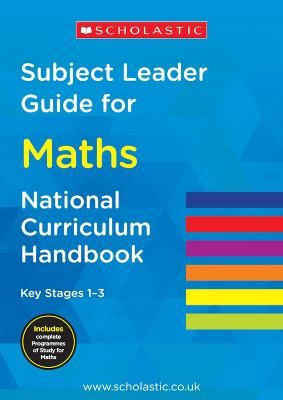 Subject Leader Guide for Maths- Key Stage 1       -3