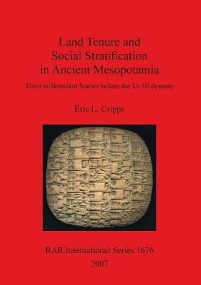 Land Tenure and Social Stratification in Ancient Mesopotamia: Third Millennium Sumer before the Ur III Dynasty: Third millennium Sumer before the Ur III dynasty