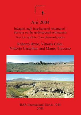 Ani 2004: Indagini sugli insediamenti sotterranei /Surveys on the underground settlements testi foto e grafiche / texts photos and graphics: Indagini sugli insediamenti sotterranei: Testi, foto e grafiche / Surveys on the underground settlements: Texts, p
